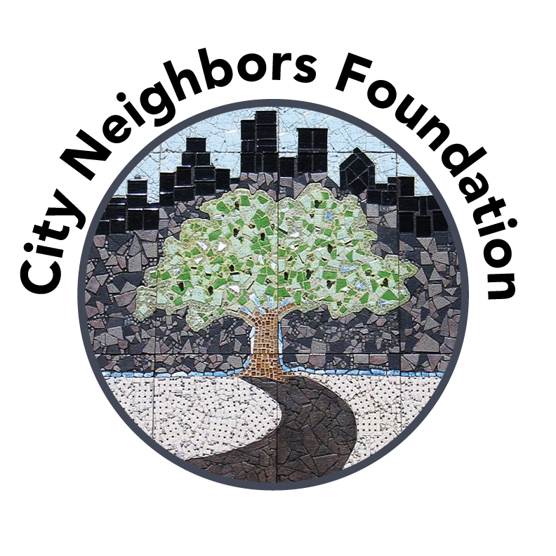 City Neighbors Foundation logo and link